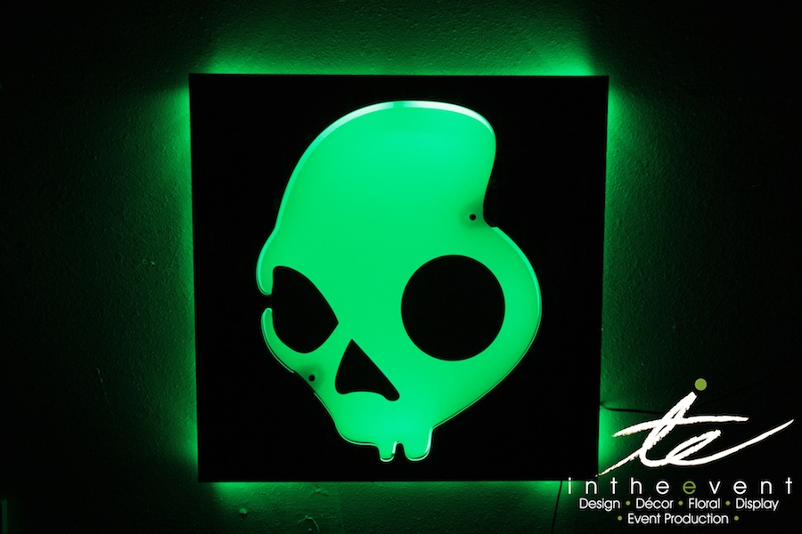Custom LED Sign LED Light Boxes LED Light Boxes Skull 10