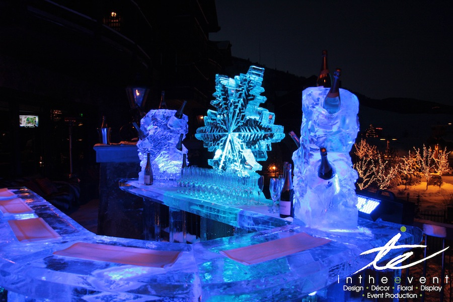 Wireless LED Lighting Champagne Ice Lounge Champagne Ice Lounge Waldorf Astoria Ice 2012 12