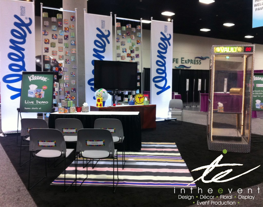 Expo Booth Kleenex Winning 'Best in Show' for Kleenex Brand Expo Booth 1024x809