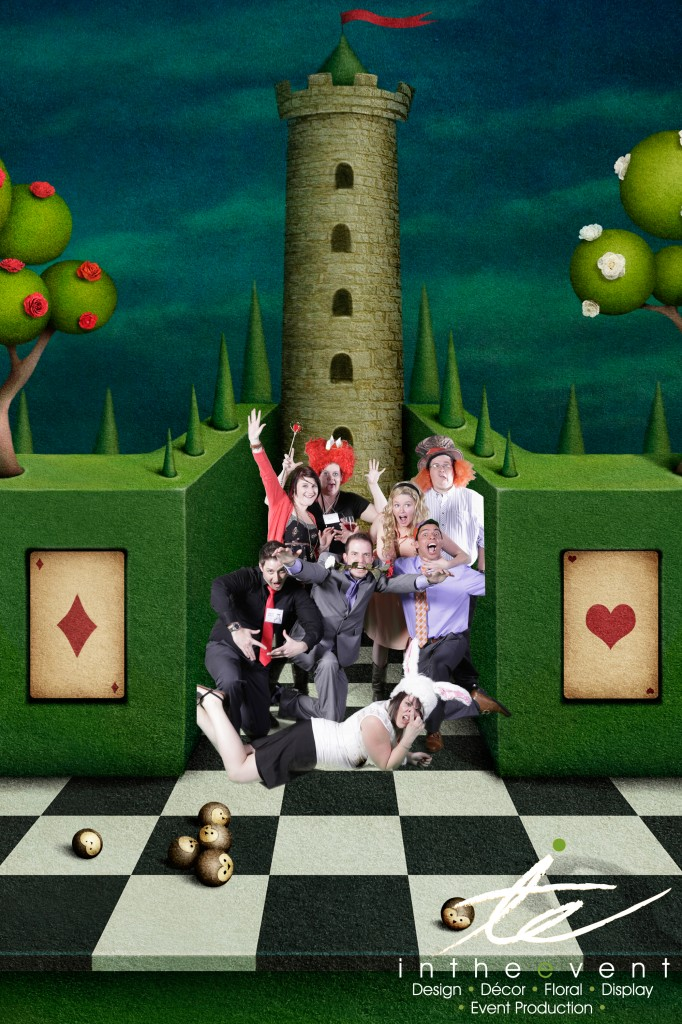 Wonderland Wonderland Overstock: A Gathering In Wonderland Green Screen I