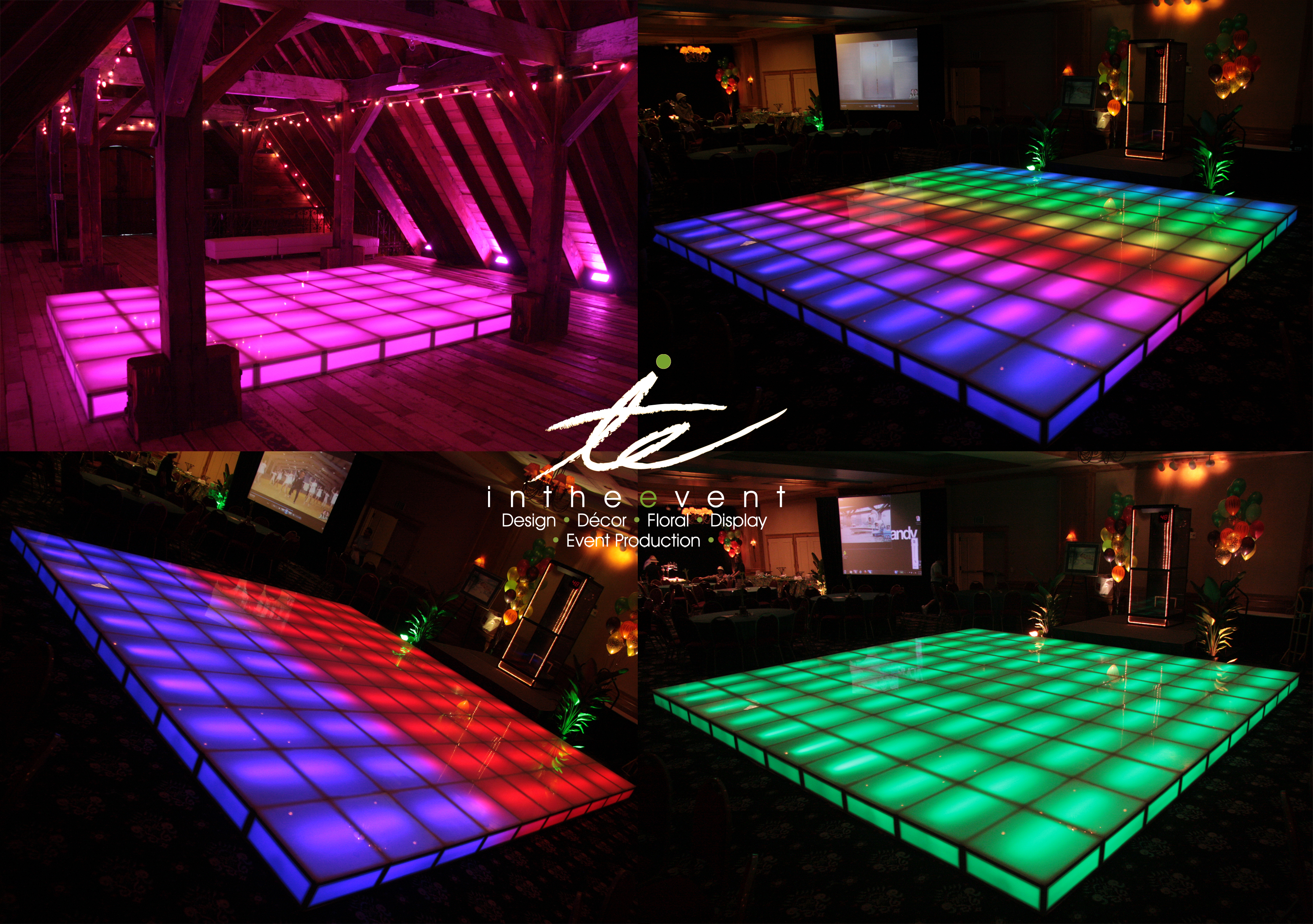 Rent a LED Dance Floor for Your Party or Event!