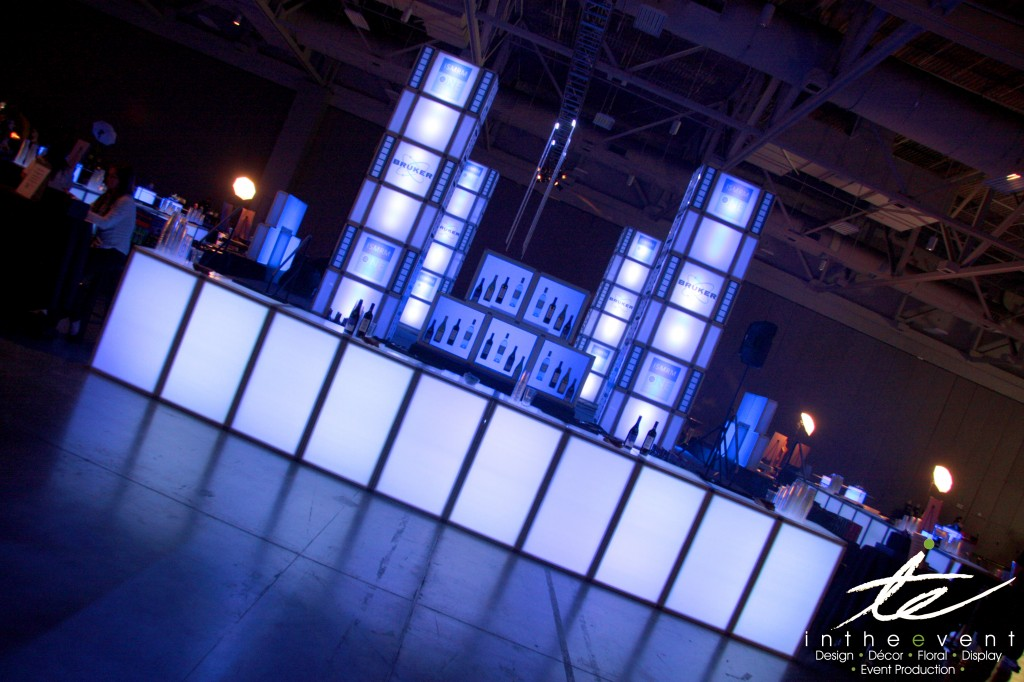 Event Furniture  Furniture Modular Furniture LED Bar with Bar Back