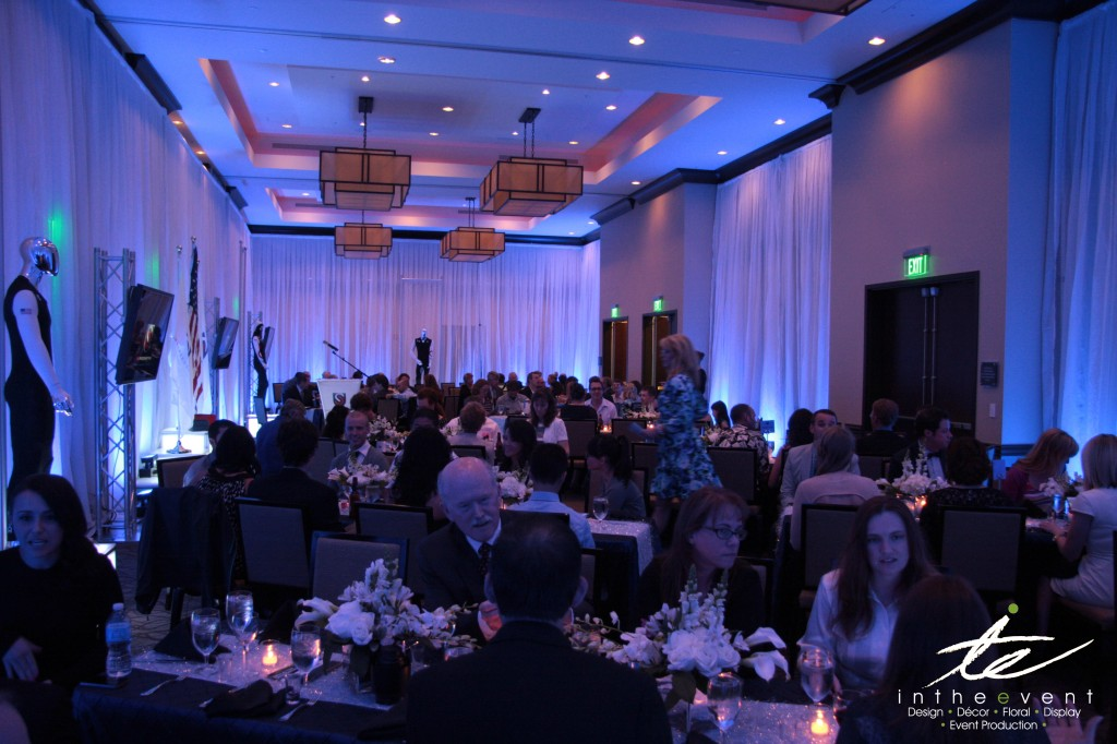 Transform your space transform Modern Event Decor: Transform Your Space Awards Dinner 3
