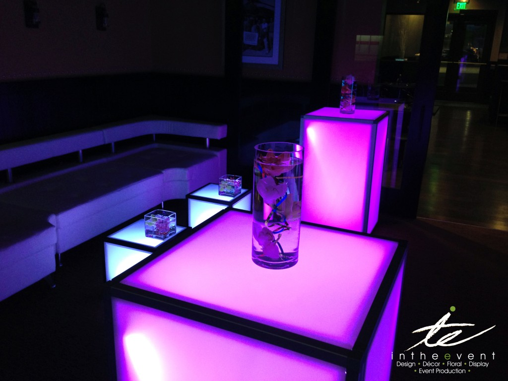 LED Hiboy with Centerpiece @ Party Party After Party LED Hiboy with Centerpiece