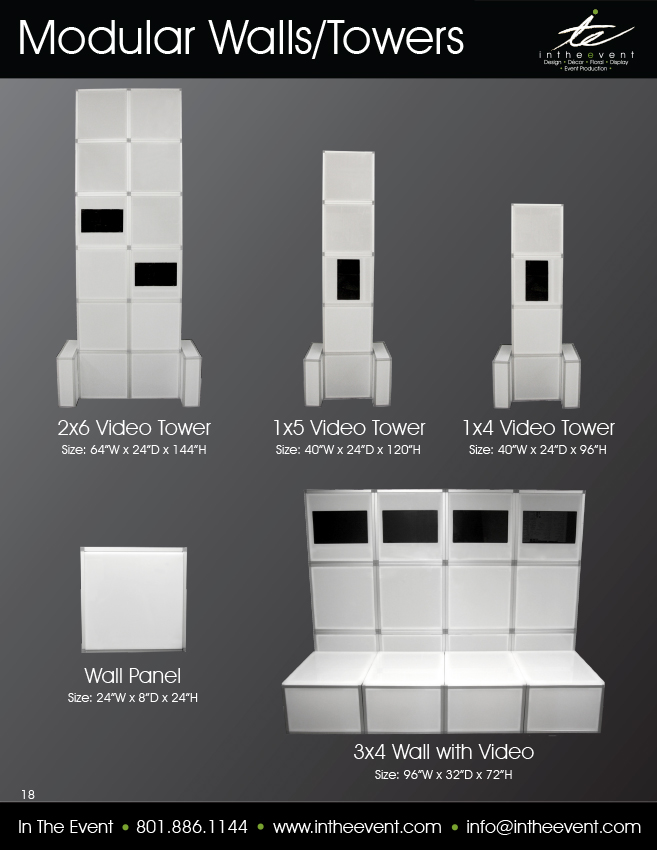 Modular Walls/Towers