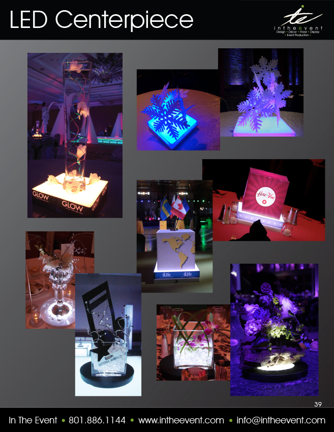 LED Centerpiece