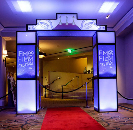 Led Marquee Entrance Event Rental
