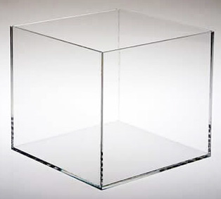 5 Sided Acrylic Cubes | Event Rentals