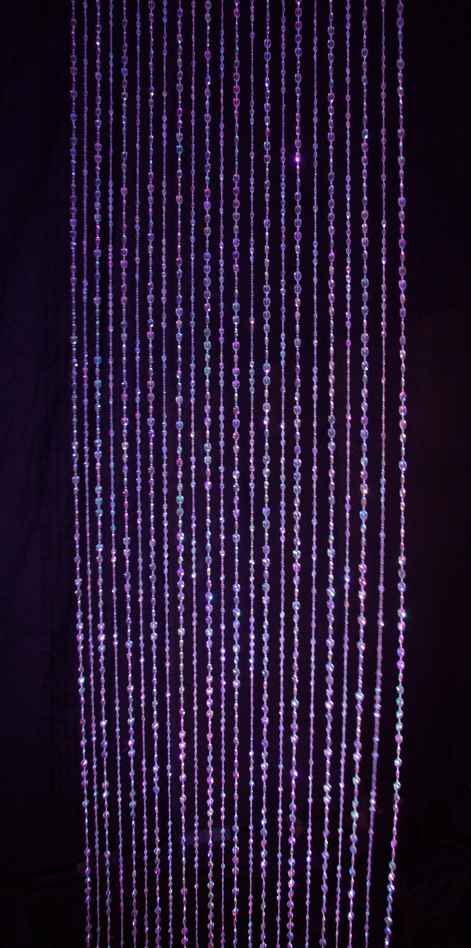 Beaded Curtain In The Event