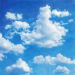 Clouds Backdrop | Event Rentals