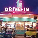 Drive In Backdrop | Event Rentals