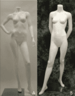 Female White Polished Mannequins | Event Rentals