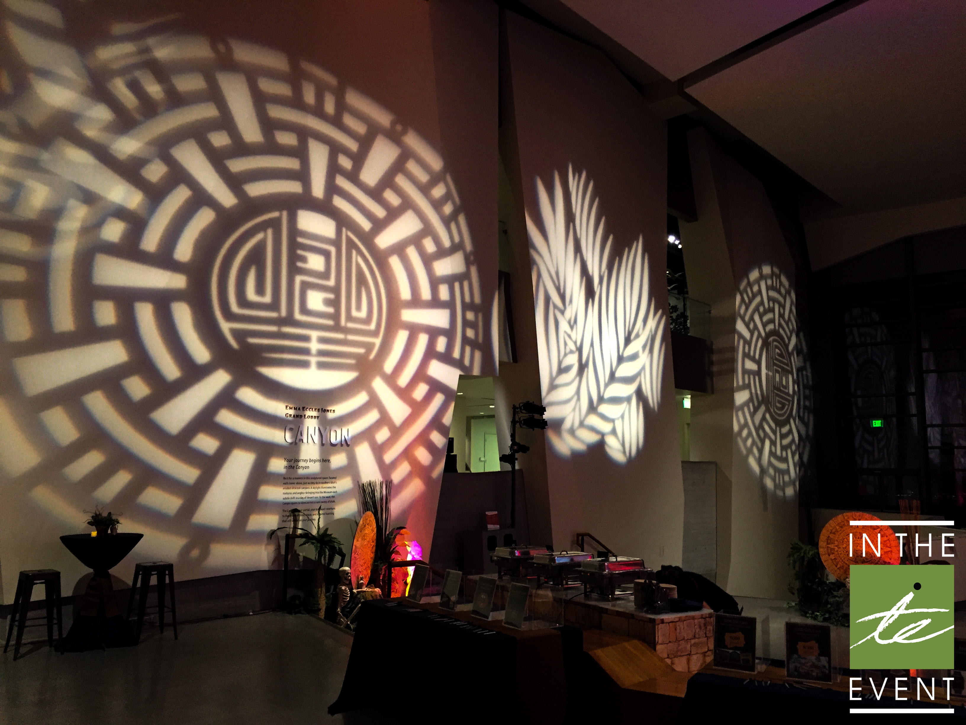 Led Gobo Projector Event Rental