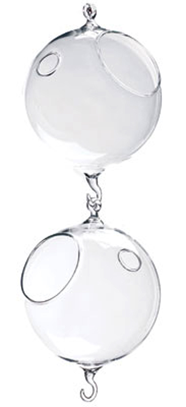 Glass Hanging Globes | Event Rentals