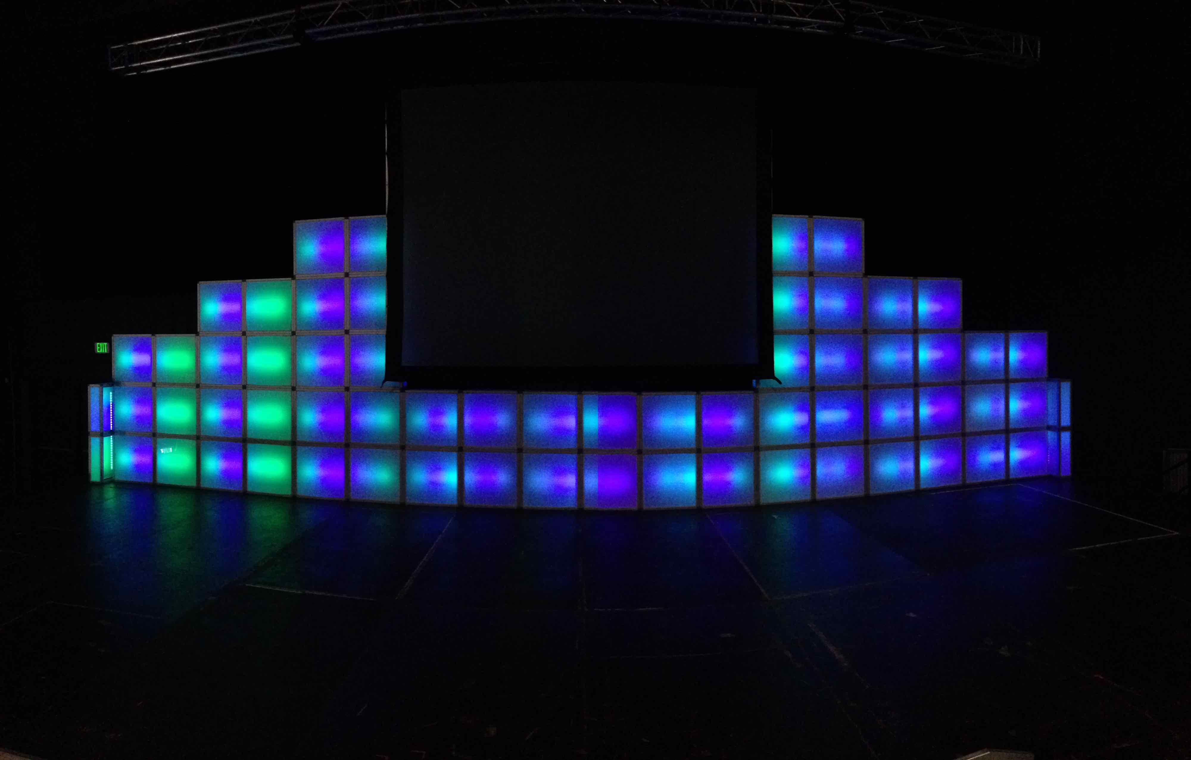 LED Wall Panel | In The Event | Premier LED Event Rentals on Led Wall id=63424