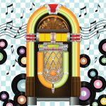 Jukebox Backdrop | Event Rentals