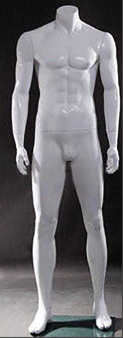 <strong></noscript>Male Polished White Mannequin</strong>