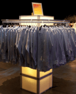 LED Mod Clothing Display | Event Rentals