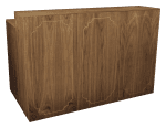 Wood Deluxe Bar | Event Rentals