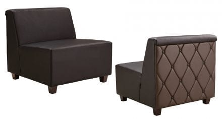 Brown Leather Sofa | Event Rental