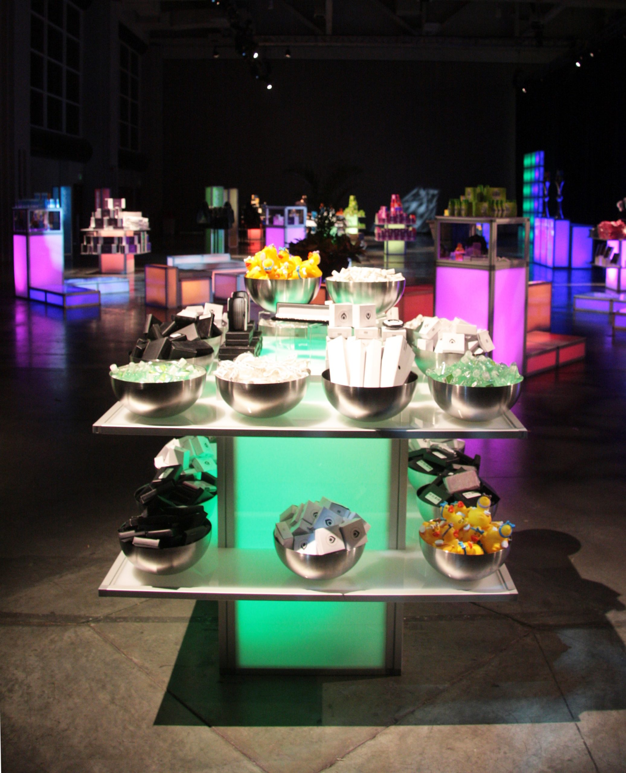 Display Table and Bowls | Event Rentals