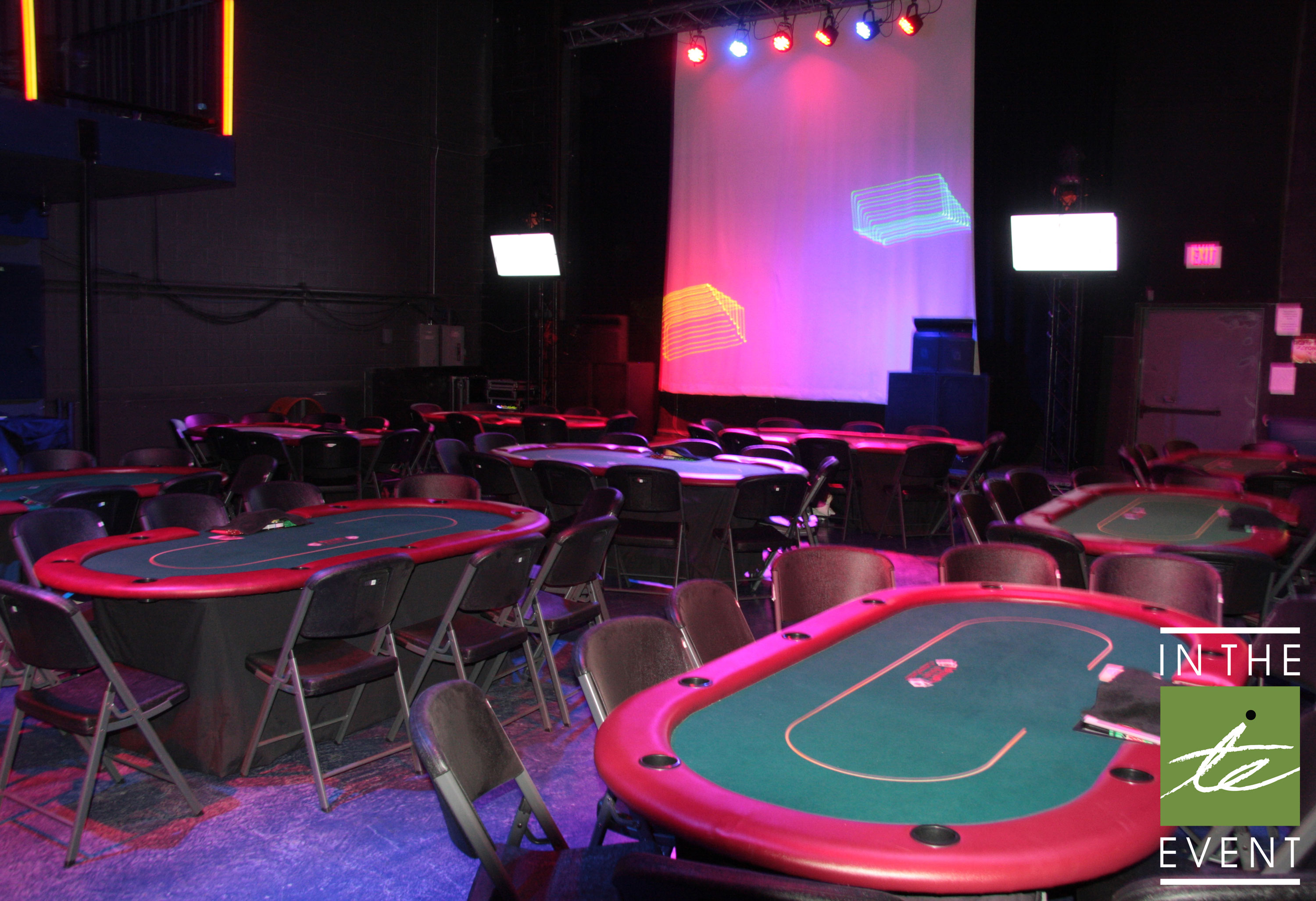card table gambling party