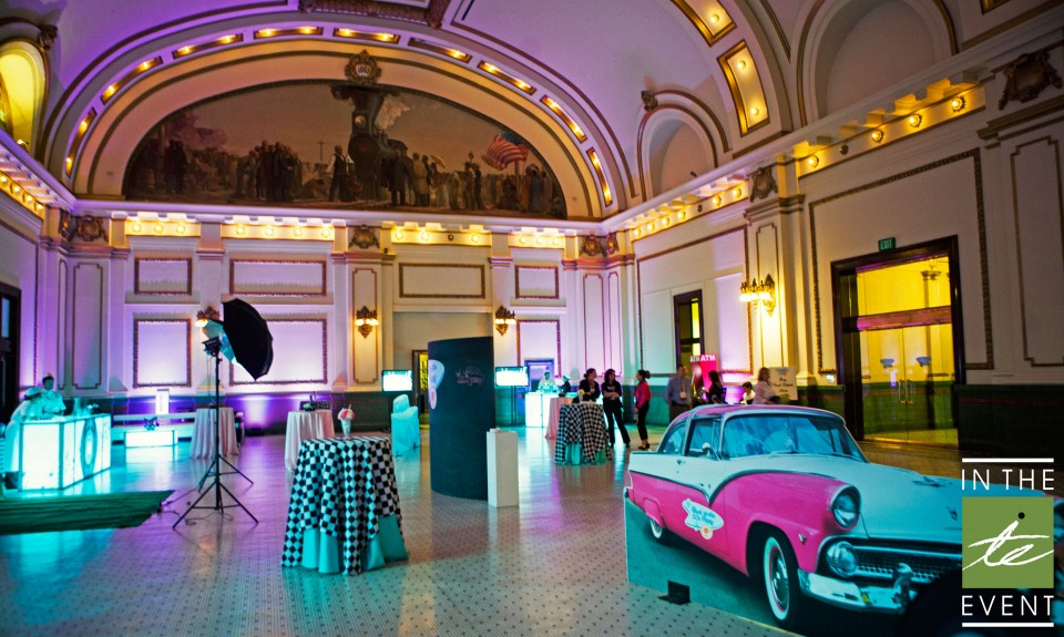 50s theme party room