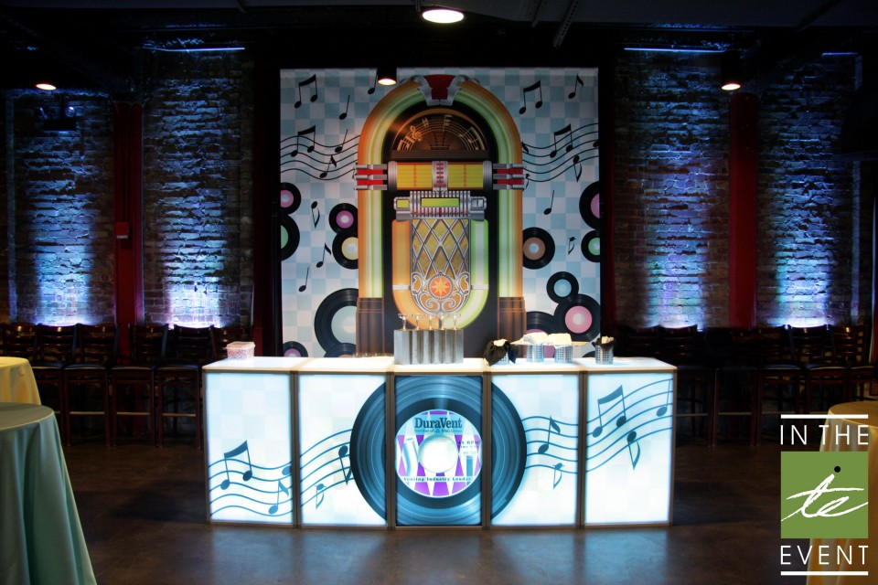 jukebox themed room event decor Decor Event Design Utah Themed Room Graphics Fifities 960x600