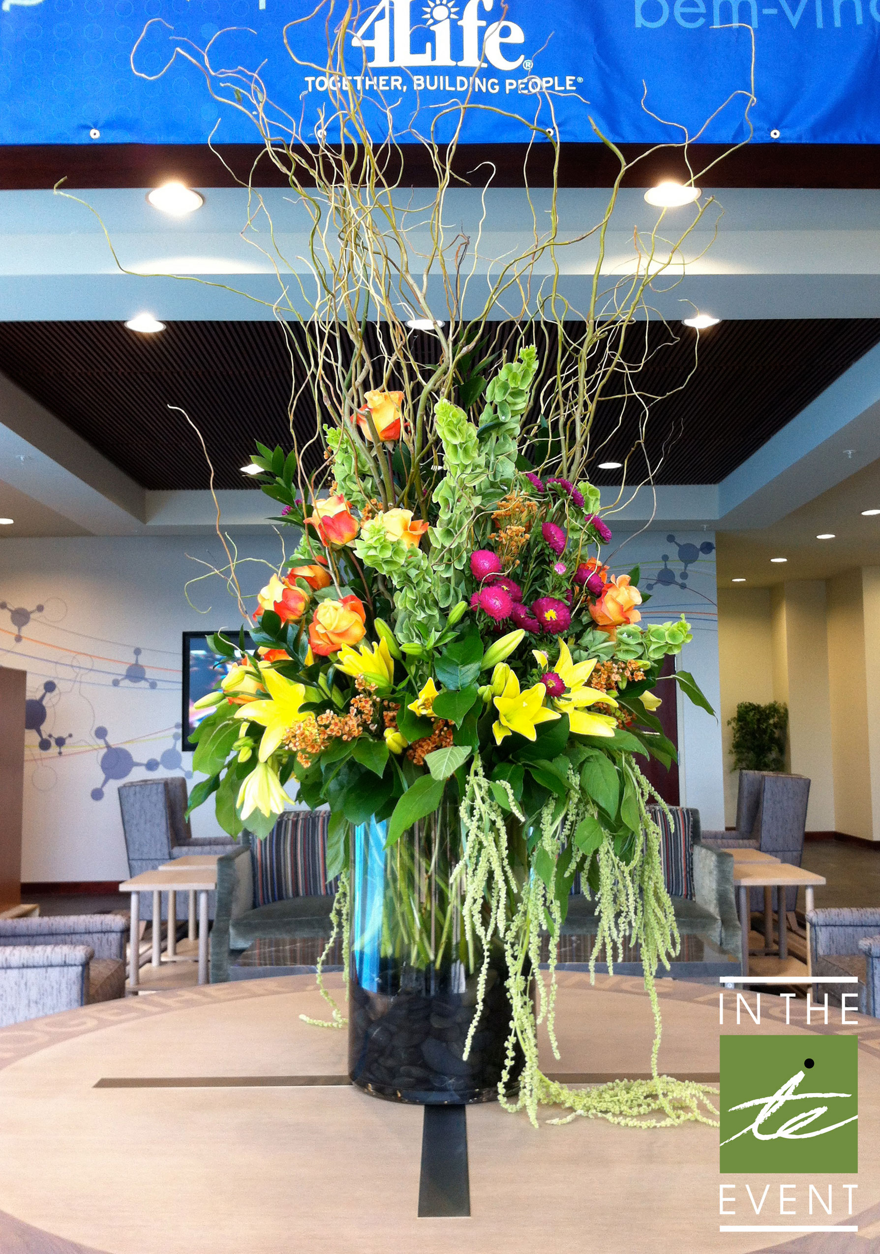 Floral design for weddings corporate events