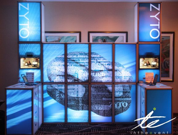 Event Graphics Utah Custom LED Booth Cling Graphics