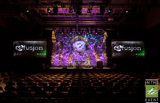 Event Production Stage Design Utah Custom Backdrop