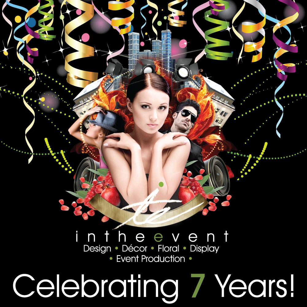 ITE 7 Year Anniversary Banner In The Event In The Event Celebrates 7 Years In Business ITE 7 Years