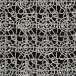 Silver Metallic Lace