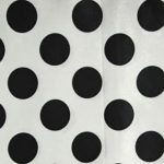 White & Black Polka Dot