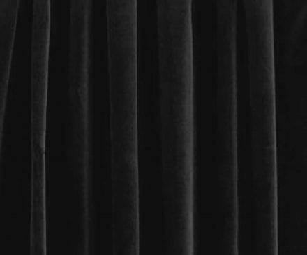 Black Velour Drape | Event Rentals