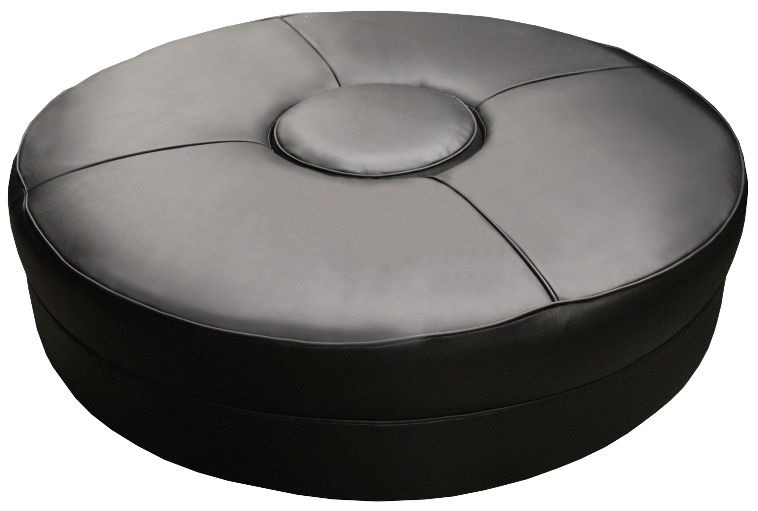 Black Leather Lobby Sofa Event Rentals Worldwide Shipping
