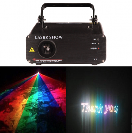 Laser Show Machine Rental