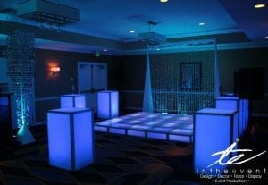 In The Event | Unique Wedding Rentals Wedding Rentals 6 Unique Wedding Rentals You've Been Looking For LED dance floor