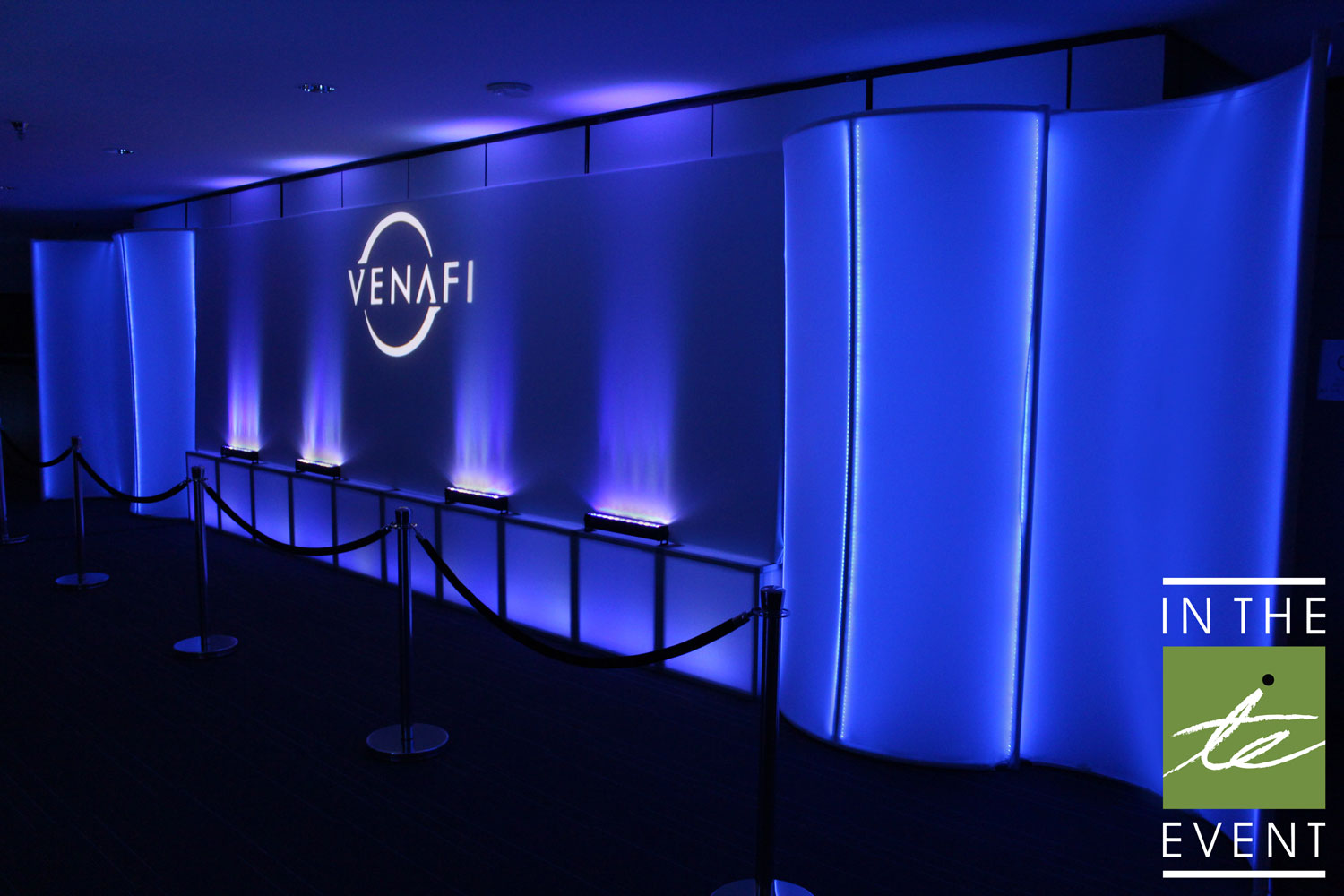 In The Event | A Lighted Event Lighting A Lighted Affair | Event Lighting Venafi 2015 11