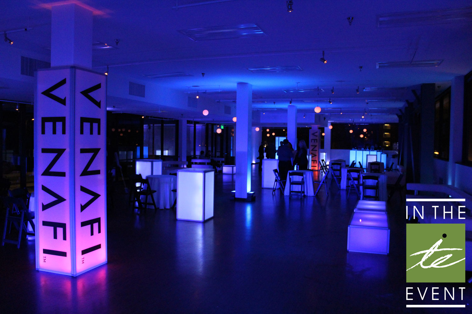 In The Event | A Lighted Affair  Lighting A Lighted Affair | Event Lighting Venafi 2015 50