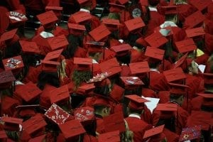In The Event | Graduation Party Graduation How To Throw The Graduation Party Of The Year graduates hats red