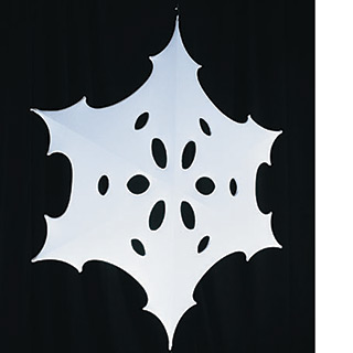 Spandex Snowflakes | In the Event