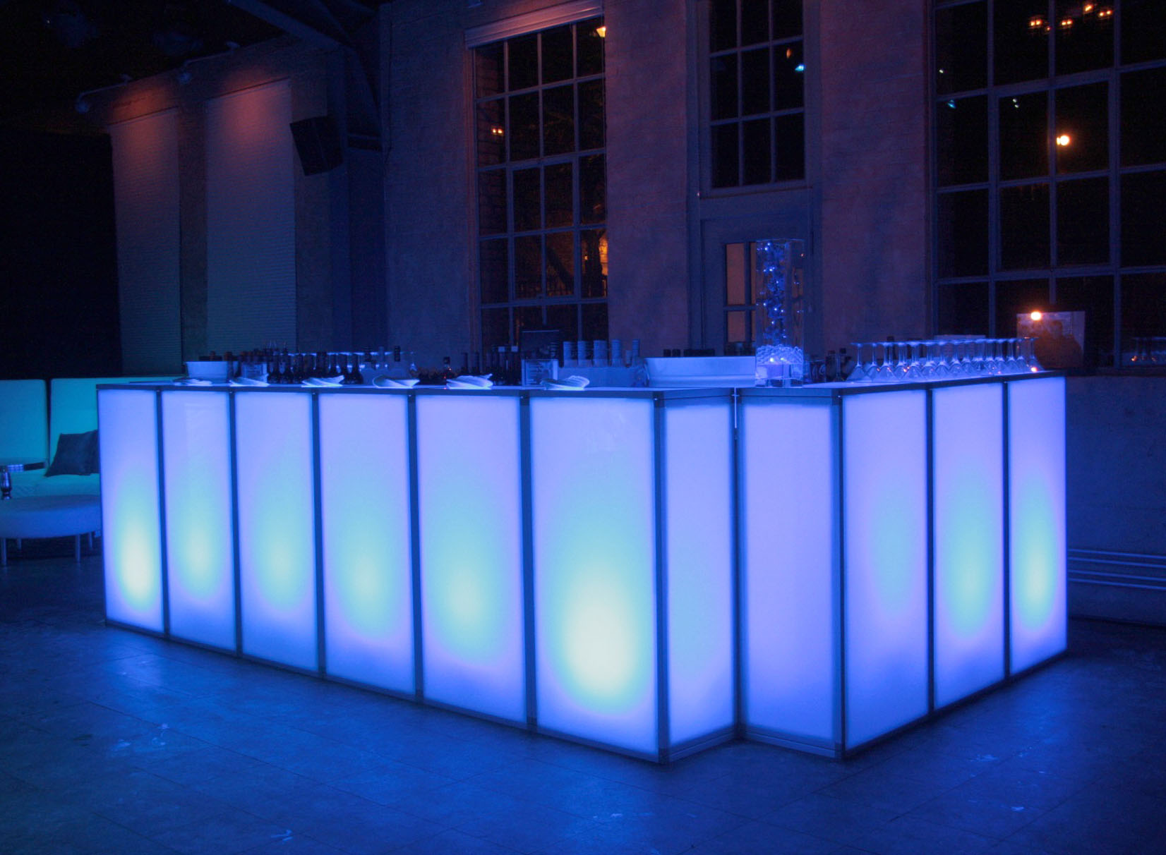 Led standard bar event rentals from in the event for Cuisine unlimited