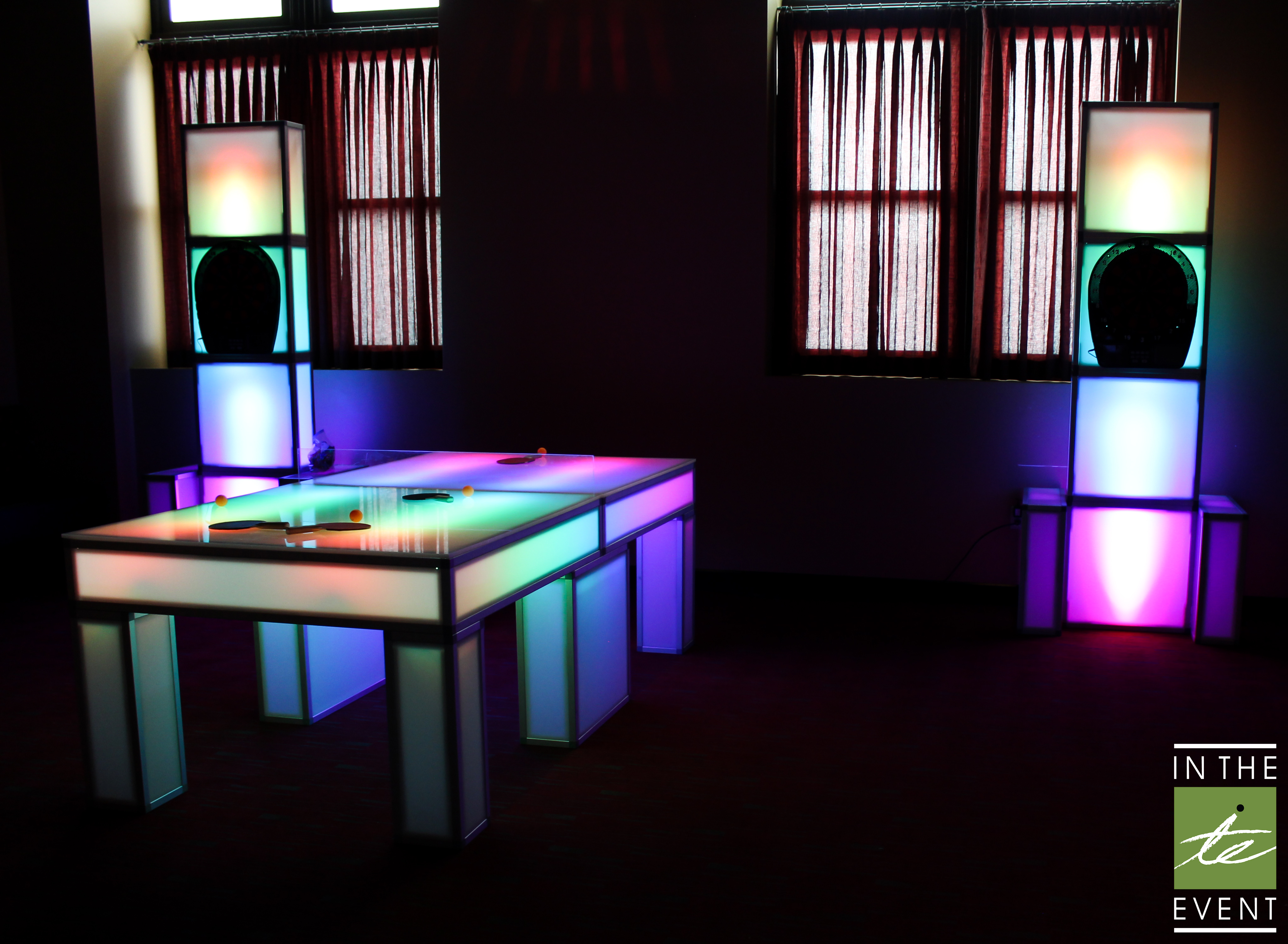 ... Game Rentals For Parties | LED Ping Pong