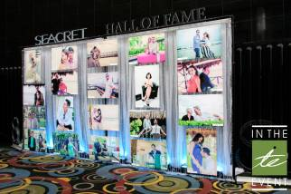 backlit photo display