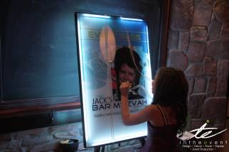 interactive party display