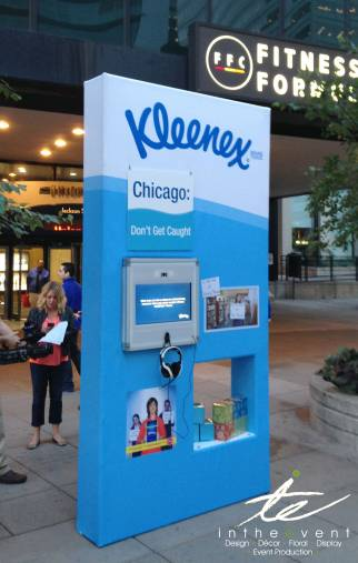 Kleenex video product display