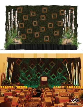 bamboo stage concept to creation