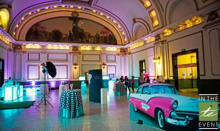taxi themed custom party design