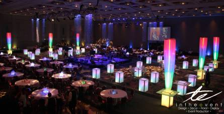 custom led event design